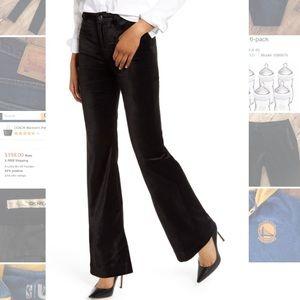 DKNY Jeans Velvet Trouser Pants Slacks